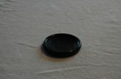 underlägg i svart plast