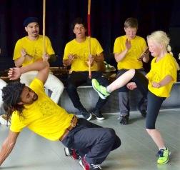 Capoeira är en av våra kursklassiker.