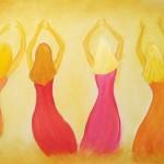 ny dansande kvinnor