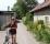 eva med cykel