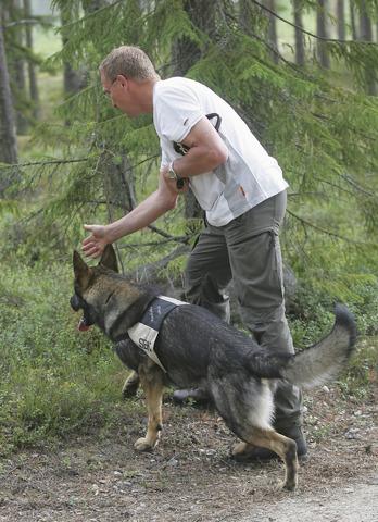SBCH Raskabo Piroll med Peter Lindström, Skellefteå BK