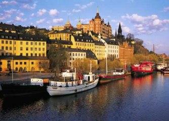 Stockholm on water