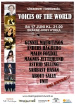 Voices of the world-affisch 2018