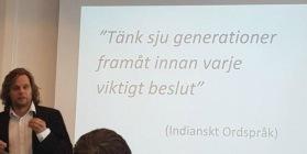 Peter Elmberg om Mundekullas hållbarhetsprofil