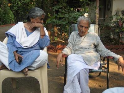 Bhikhu och Kokila Vyas 2010.