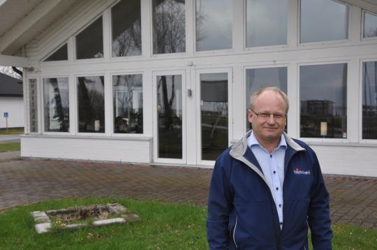 """Anders Lagerholm och Falsterbo kursgård är kraftsamlare och CSR-ivrare. """"Jag tar gärna emot praktikanter"""", säger han."""