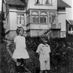 Ett av de gamla husen på nösund, byggt på 1910-talet