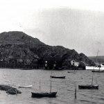 Ångbåt vid bryggan, tidigt 1900-tal