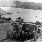 Varmbadhuset och ett av de nya sommarhusen ca 1920