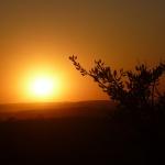 Solnedgång Abadiania