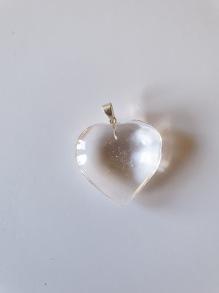 Berlock hjärta - Berlock kristall hjärta