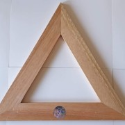 Triangel stor i trä