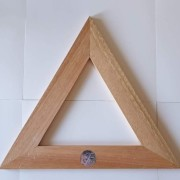 Triangel liten i trä