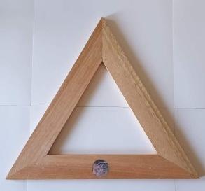 Triangel liten i trä - Liten triangel i trä