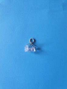 3 kristaller som berlock - 3 kristaller som berlock