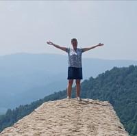 Toppen på Solpyramiden