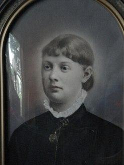 Anna-Stina Andersdotter 1864-1887. Dör i barnsäng.