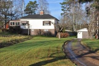 Hildelund hösten 2012. Huset byggt mellan 1940 och 1945