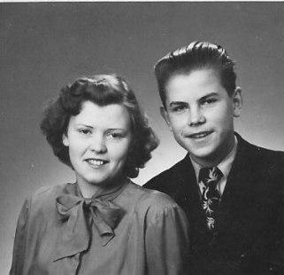 Syskonen Mona och Rolf Foss bodde på Lundaby på 1930-talet.