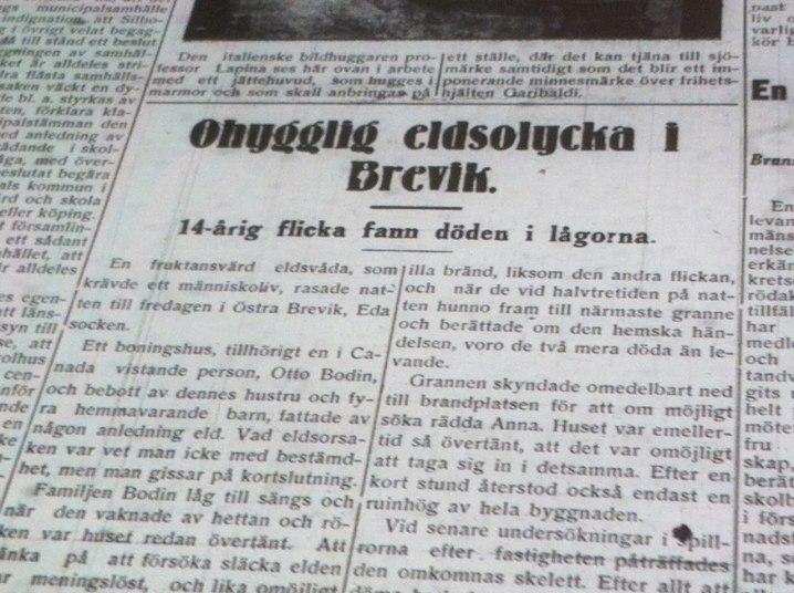 Arvika Nyheter 20 februari 1930