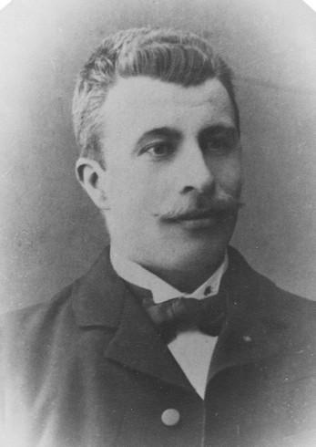 Josef Olsson född 1879. Bilden tagen omkring 1910.