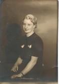 Greta Gustavsson. Bilden från 1941.