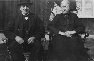 Anders Andersson född 1849 och hans hustru Kerstin Persdotter född 1855.