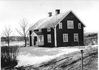 Nystuga i slutet av 1940-talet