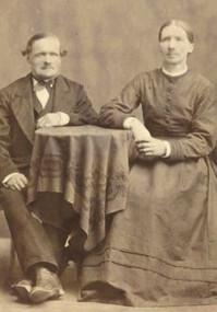 Olof Olsson Brefält och hustrun Märta Olsdotter.