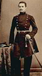 Carl Johan Uggla, major vid Jösse kompani.