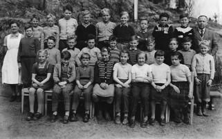 Olebyn Skola - klass tre och fyra. 1953-54
