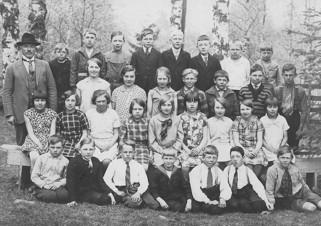 Skönbacka skola 1932-33