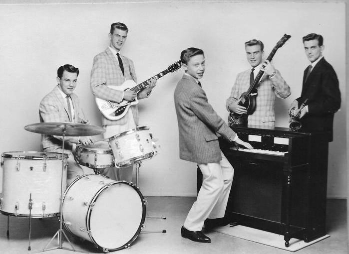 Ji-Coos and the Vikings. Populär orkester i början av 1960-talet
