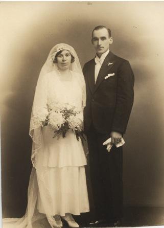 Teodor och Ester gifte sig 1931