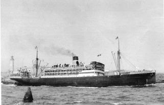 Ångfartyget Munargo som 1926 kom till New York från Bahamas.