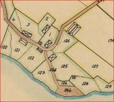 Gården Väststuga 1834