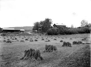 Tostebols gård 1908. Källa: Köla fotoklubb