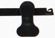 Clipgalge i sammet CPI 36cm, svart, 10 st