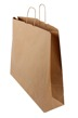 Papperspåse 54x14x45cm - Brun biokraft, 150st