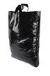 Plastpåse 45x50+ 4 cm - Svart, sleifhandtag, 300 st