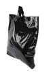 Plastpåse 60x55+5 cm, svart, 250st