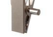 Handskhängare 609LH 1 clip 9,5 cm med extra lång krok, krom matt 100 st