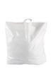 Plastpåse 60x55+5 cm - Vit, sleifhandtag, 250st