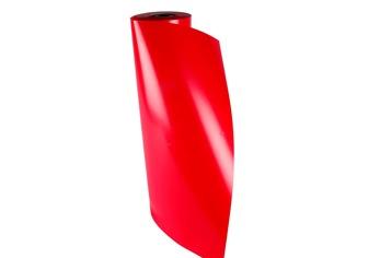 Presentpapper 57cm x 154m - Röd, 1 rulle