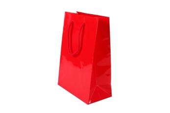 Handgjord påse 19x27x10cm - Röd, 150st