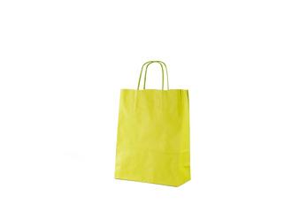 Papperspåse 22x10x29 - Äppelgrön, 50st