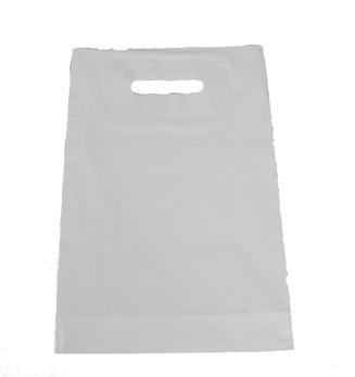 Plastpåse 24x36+4cm - Vit, 1000 st - Ej i lager för tillfället, inkommer inom kort
