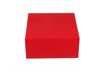 Giftbox 225x225x105mm - Röd, 30st