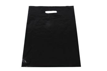 Plastpåse 35x45 + 4 cm - Svart, 500 st