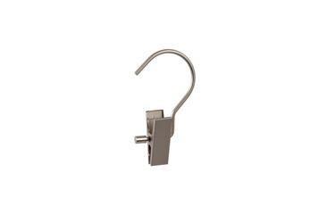 Handskhängare 609LH 1 clip 9,5 cm med extra lång krok, krom matt 100 st -